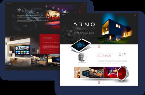 Site internet Arno Domotic Lille